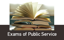 Exams of Public Servants